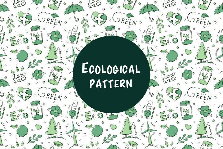Ecological Pattern Vector Design