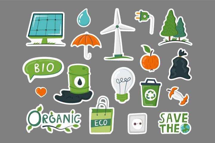 Ecology Color Stickers