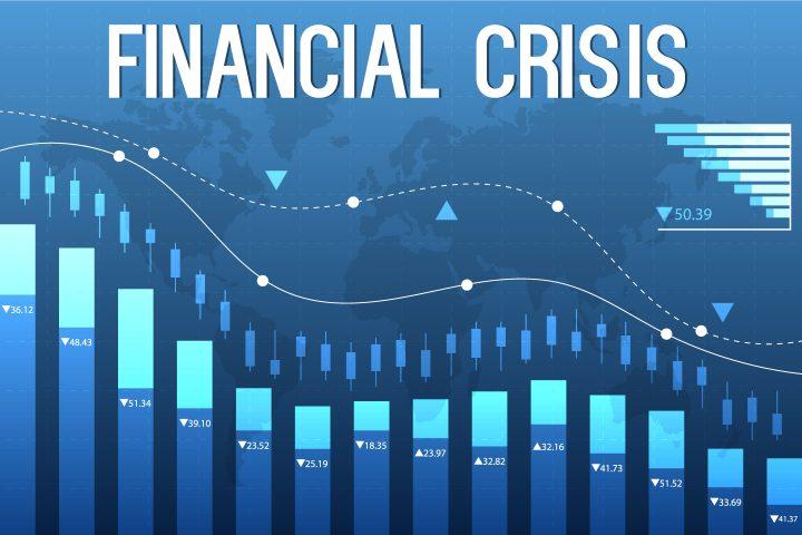 Financial Crisis Vector Design
