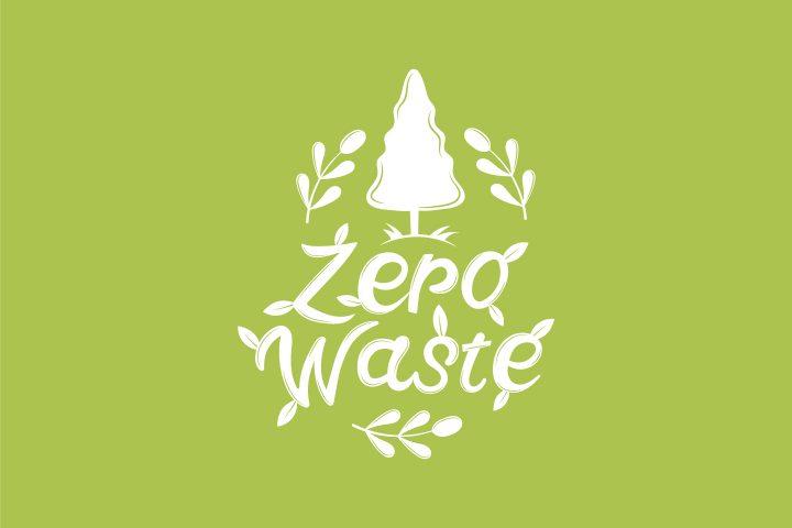 Illustration Zero Waste for Websites Concept