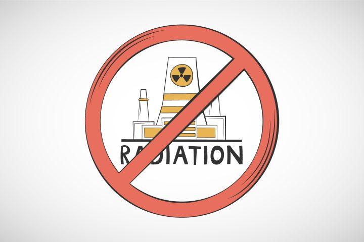 Illustration on the Prohibition of Radiation