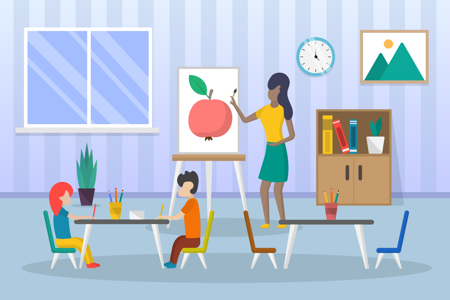 Kids Learn to Draw Illustration