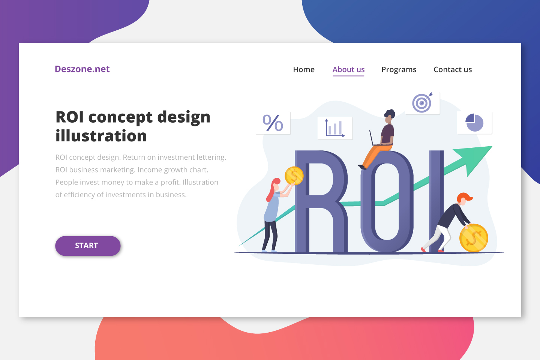 ROI Concept Design Illustration