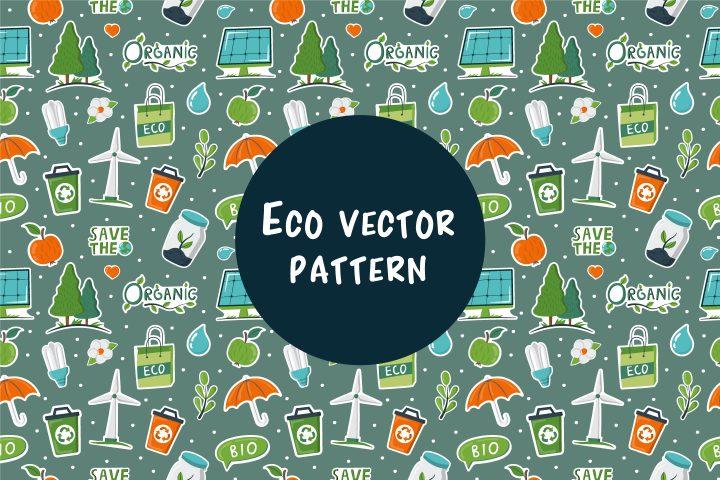 Vector Eco Pattern