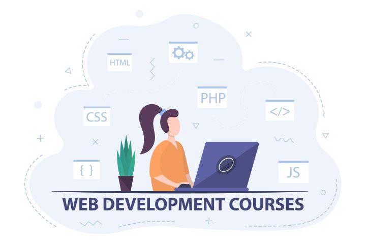 Web Development Courses Illustration