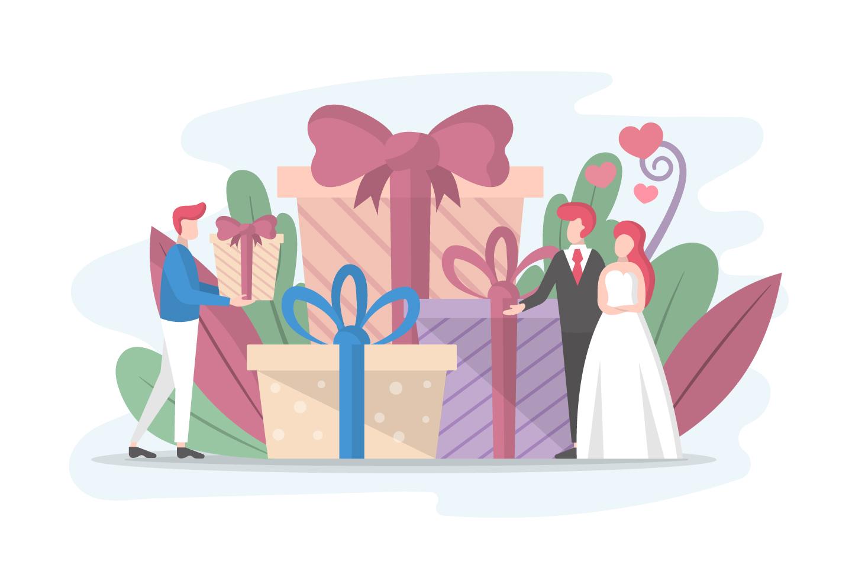 Wedding Gifts Illustration