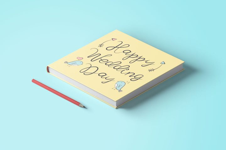 Wedding Lettering for the Design of Invitations Books Websites Concept