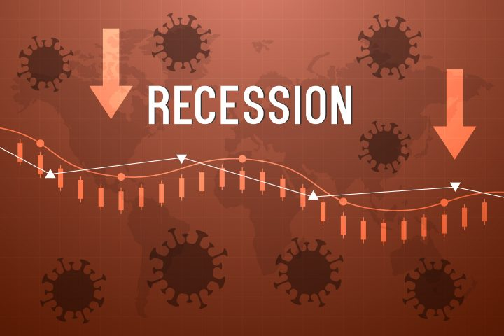 World Global Recession Concept