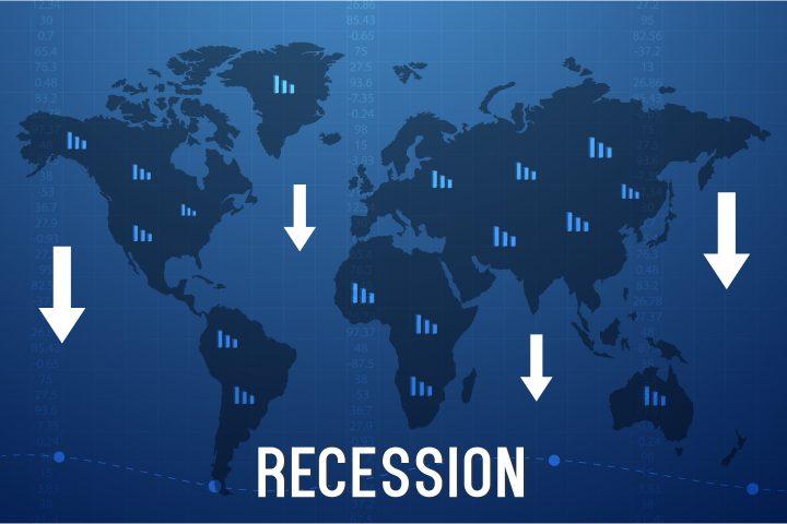 World Recession Vector Design
