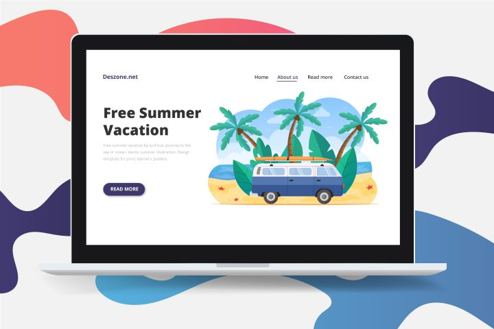 Free Summer Vacation by Surf Bus