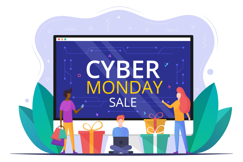 Cyber Monday Vector Concept