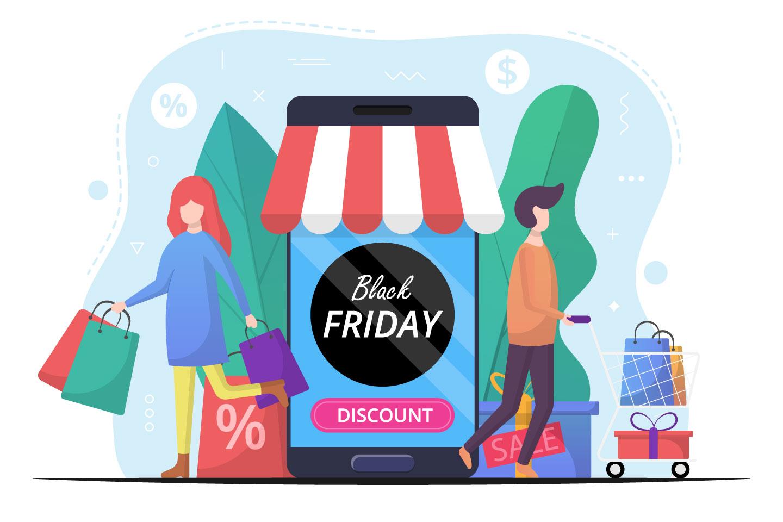 Black Friday Vector Illustration