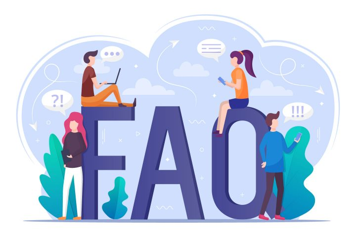 FAQ Vector Illustration