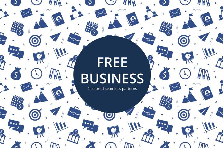 Business Vector Free Seamless Pattern