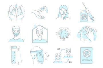 Free COVID-19 Icons (SVG)