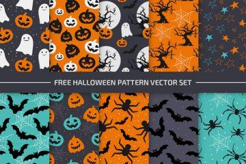 Halloween Pattern Set