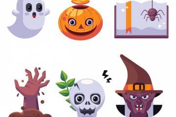 Scary Halloween Symbols