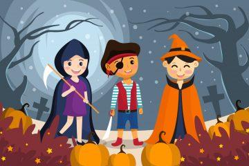 Celebration of Halloween Festivity