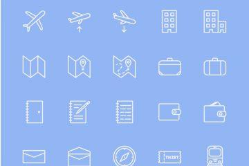40 Travel Icons