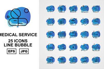 Line Bubble Medical Service