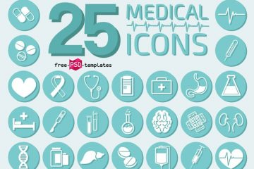 25 Medical Icons